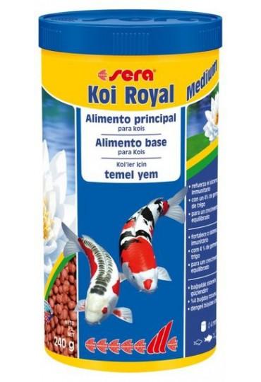 Comida para peces estanque sera koi royal large 1000ml for Comida peces estanque