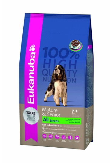 Eukanuba Mature & Senior Cordero y Arroz