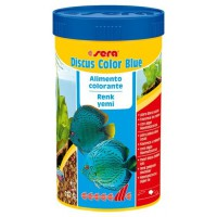 SERA DISCUS COLOR BLUE 250ML ALIMENTO COLORANTE