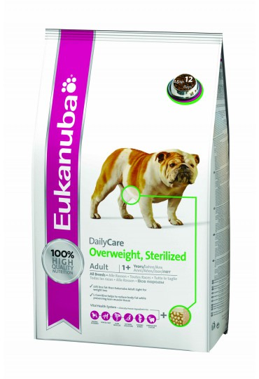 Eukanuba Daily Care Overweight Sterilized