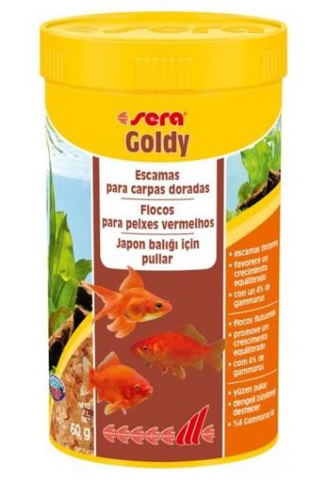 SERA GOLDY 250 ML. ALIMENTO CARPAS DORADAS