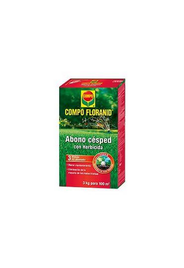 COMPO ABONO CESPED + HERBICIDA 3 KG