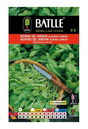 BATLLE SEMILLA BERRO DE JARDÍN ALENOSIS COMÚN