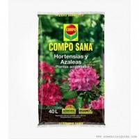 COMPO SANA HORTENSIAS Y AZALEAS 20 L.