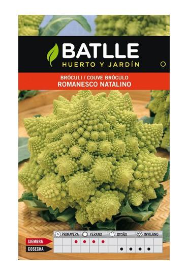 BATLLE SEMILLA ROMANESCO NATALINO