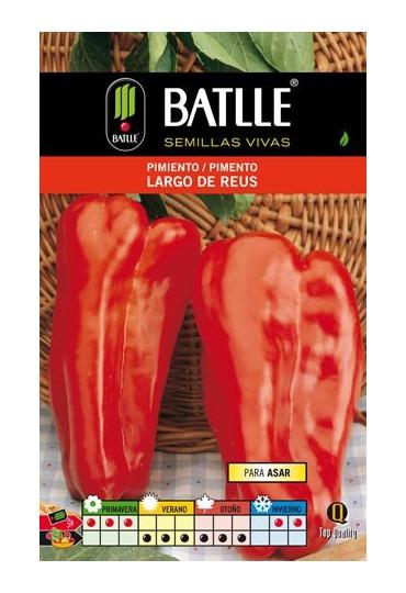 BATLLE SEMILLA PIMIENTO LARGO DE REUS