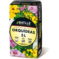 BATLLE SUSTRATO ORQUIDEAS 5 L BATLLE
