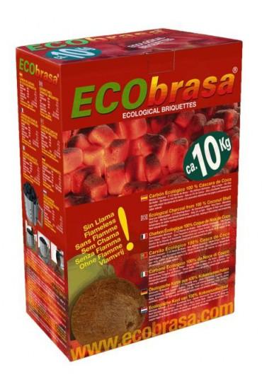Ecobrasa cascara de coco