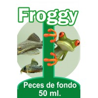 TABLETAS PECES DE FONDO 50 ML FROGGY