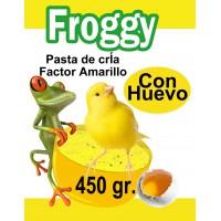 PASTA CRIA HUEVO 450 GR FROGGY