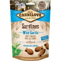 CARNILOVE SOFT SNACK SARDINES & EILDGAR 200G