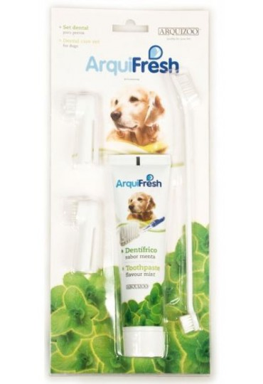 ArquiFresh Set Dental Menta Perros