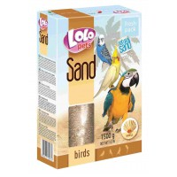 LOLO PETS NATURAL SAND GRIT OSTRA 1,5 KG PAJAROS
