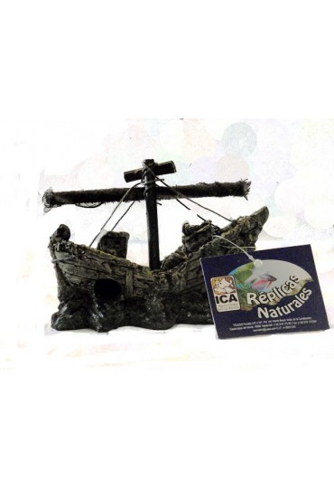 Barco naufragio decoración