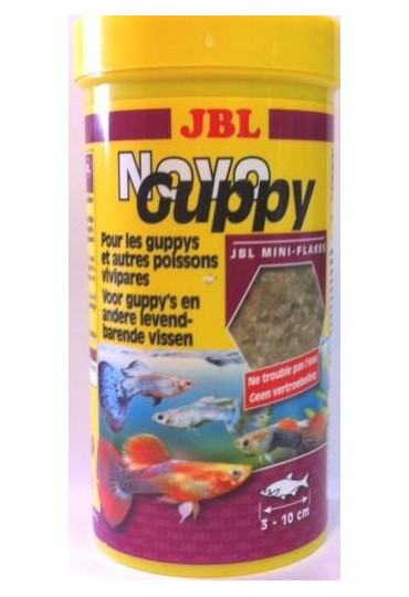 JBL ALIMENTO EN ESCAMAS NOVOGUPPY 250ML