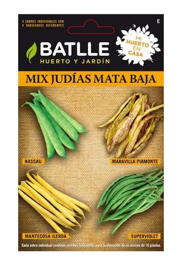 SEMILLAS MIX JUDIAS MATA BAJA-HC BATLLE