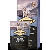 CARNILOVE SALMON & TURKEY PUPPIES DOG (salmón y pavo)