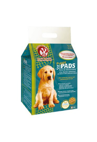 ICA PUPPY PADS ADHESIVOS (10 UDS) 60X60