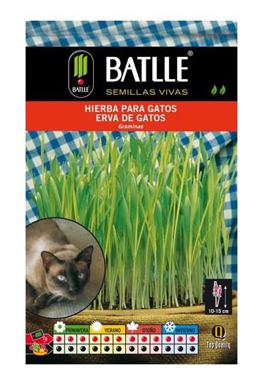 BATLLE HIERBA PARA GATOS