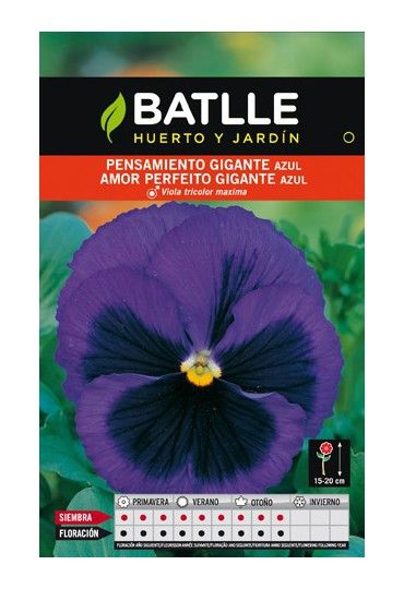 BATLLE SEMILLA DE PENSAMIENTO GIGANTE AZUL