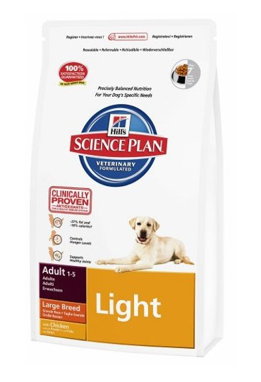Hill's Canine Adult Light Razas Grandes