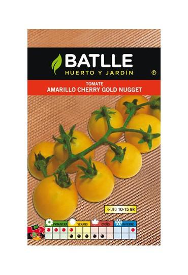 BATLLE TOMATE AMARILLO CHERRY GOLD NUGGET