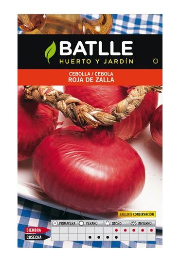 BATLLE SEMILLA CEBOLLA ROJA DE ZALLA BATLLE