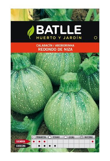BATLLE SEMILLA CALABACIN REDONDO DE NIZA