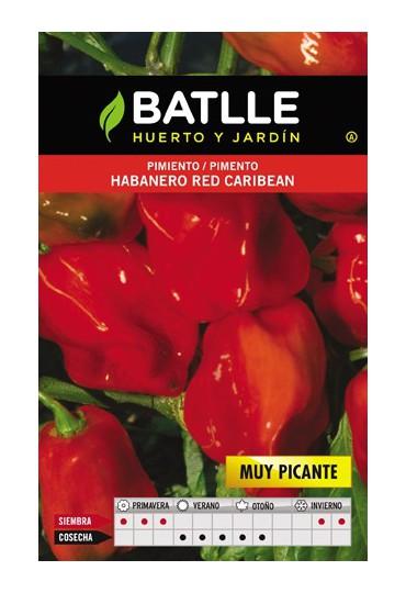 BATLLE PIMIENTO HABANERO RED CARIBEAN