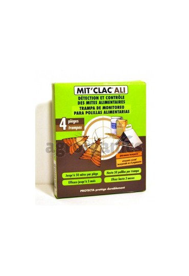 MIT CLAC TEX 4 TRAMPAS TEXTIL 6.5X30CM