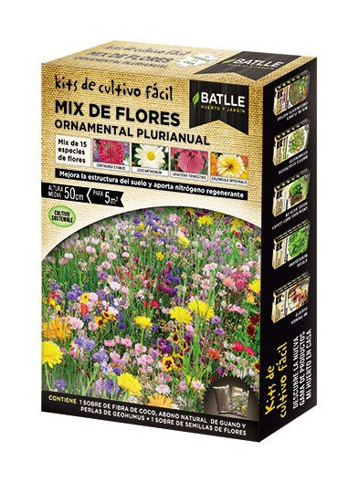 BATLLE KF- MIX FLORES PLANTAS PLURIANUALES