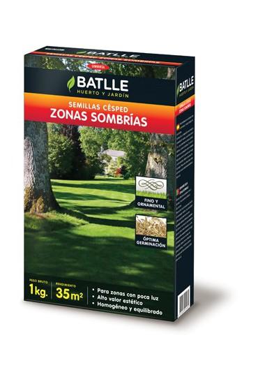 BATLLE CESPED ZONAS SOMBRIAS 1 KG