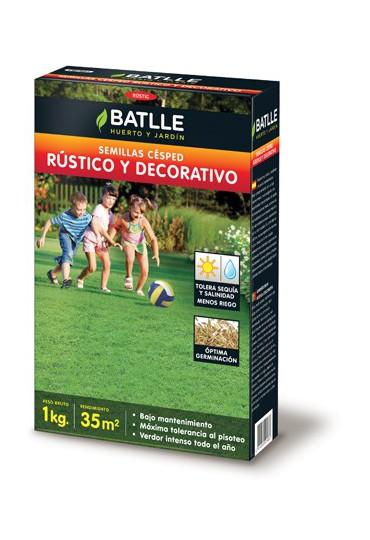 BATLLE CESPED RUSTICO Y DECORATIVO 1 KG