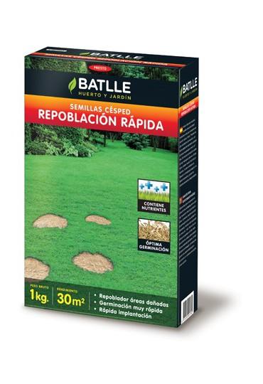 BATLLE CESPED REPOBLACIÓN RAPIDA 1 KG