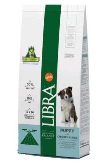 LIBRA DOG PUPPY POLLO Y ARROZ 15 KG