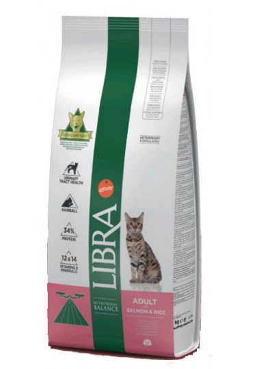 LIBRA CAT ADULT SALMON Y ARROZ 1.5 KG