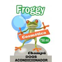FROGGY CHAMPU ACONDICIONADOR 2 EN 1 750 ML
