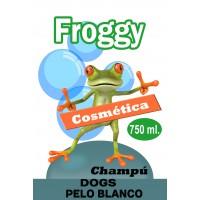 FROGGY CHAMPU PELO BLANCO 750 ML