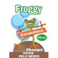 FROGGY CHAMPU PELO NEGRO 750 ML