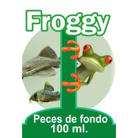 TABLETAS PECES DE FONDO 100 ML FROGGY