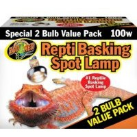 ZOOMED BASKING SPOT LAMP 100W