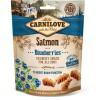 CARNILOVE CRUNCHY SNACK SALMON & BLUEB 200G
