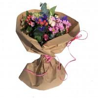 Ramo de flores frescas San Valentín