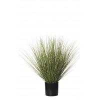PLANTA GRASS ARTIFICIAL 84CM BLANCO