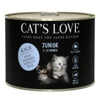 CAT'S LOVE JUNIOR TERNERA 200GR