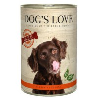 DOG'S LOVE BARF TERNERA 400GR