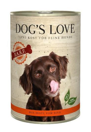DOG'S LOVE BARF TERNERA 400GR