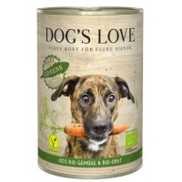 DOG'S LOVE FRUTAS Y VERDURAS BIO GREENS 400GR