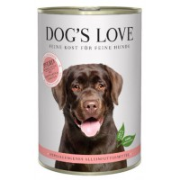 DOG'S LOVE HIPOALERGENICO CABALLO 400GR