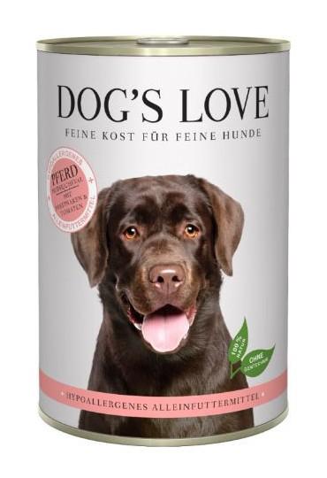 DOG'S LOVE HIPOALERGENICO CABALLO 400GR